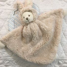 "Barbara Bukowski - Bear ""Ziggy baby rug"" cream color"