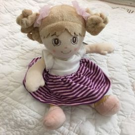 Barbara Bukowski - Doll Little Sister mauve dress