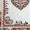 "Kitchen towel ""Plagne"" ecru by Tissus Toselli"