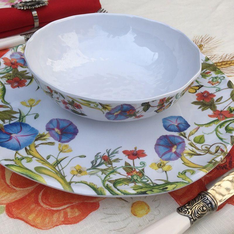 "Michel Design Works  ""Summer Days"" serveware cereal bowl"