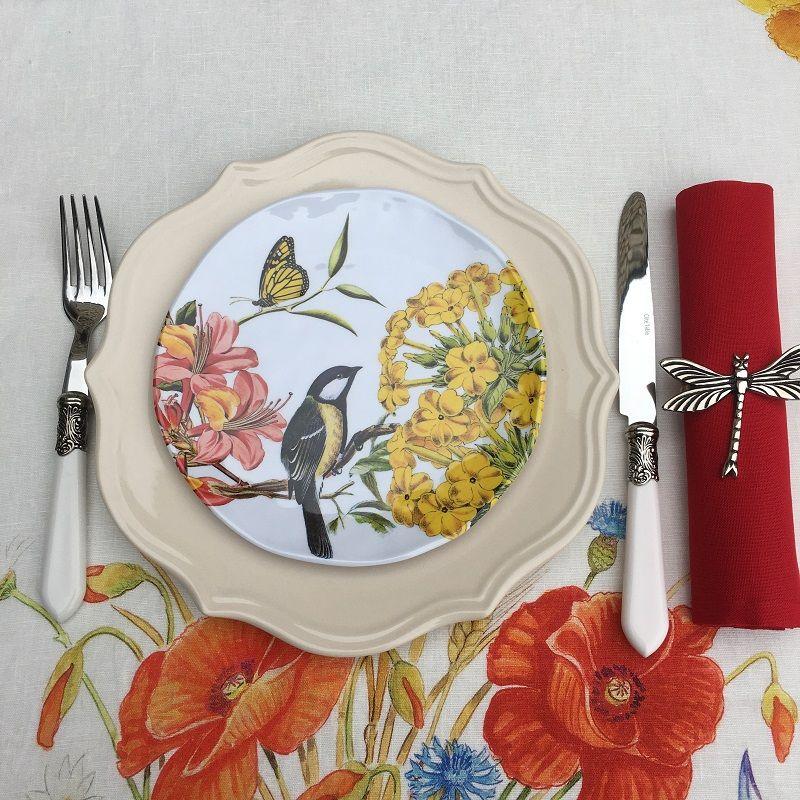 """Michel Design Works, lot de 4 petites assiettes """"Summer Days"""""""