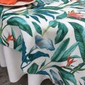 """Rectangular coated cotton tablecloth """"Arôme"""" Sud Etoffe"""