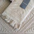 """Bath towels  La Vivaraise """"Zoé"""" linen color"""