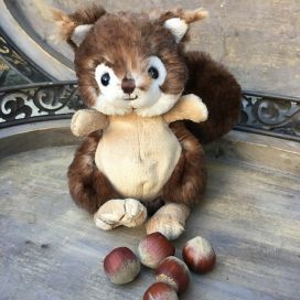 Peluches Bukowski - L'écureuil brun Baby Brunis