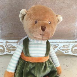"""Barbara Bukowski - bear """"Mavy"""" green"""