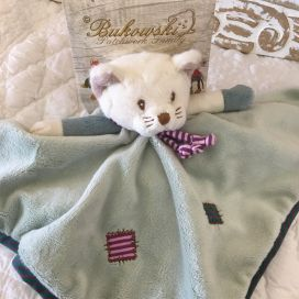 "Barbara Bukowski - baby rug cat ""Ossian"""