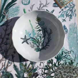 "Michel Design Works ""Ocean Tide"" melamine Bistro Bowl"