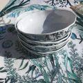 """Michel Design Works  """"Ocean Tide"""" serveware cereal bowl"""