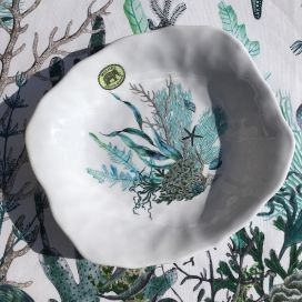 "Michel Design Works, assiette creuse ""Ocean Tide"""