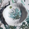 "Michel Design Works ""Ocean Tide"" Melanine serveware pasta bowl"