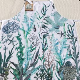 "Michel Design Works ""Ocean Tide"" apron"