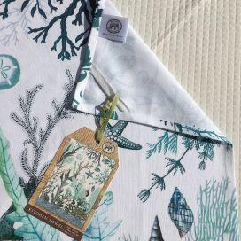 "Michel Design Works ""Ocean Tide"" kitchen towel"
