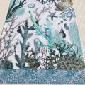 "Michel Design Works ""Ocean Tide"" kitchen towel"