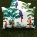 """Outdoor cushions """"Toucan"""" ecru"""