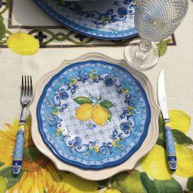 """Melamine desert plate  """"Sorrento"""""""
