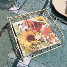 "Paper napkins ""Sunflowers"""