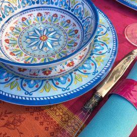 """Assiette creuse en mélamine 19cm """"Toscana"""""""