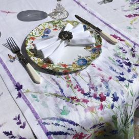 """Chemin de table en lin """"Spigo"""" Tessitura Toscana Telerie"""