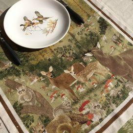 "Chemin de table en lin ""Walser"" Tessitura Toscana Telerie"