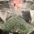 Tessitura Toscana Telerie, linen table napkin cream color
