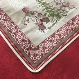 "Webbed table runner ""Lugeur"""