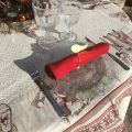 """Jacquard tablecloth """"Lugeur""""  Tissus Toselli"""