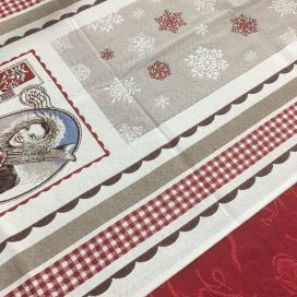 "Webbed table runner ""Avoriaz"" Tissus Tosseli"
