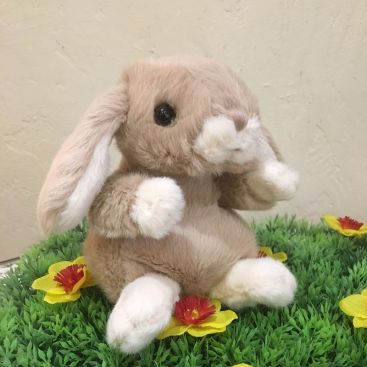 Barbara Bukowski - Fluffy rabbit KANINI   beige