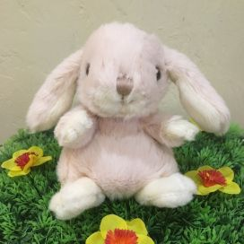 Barbara Bukowski - Fluffy rabbit KANINI   Pale pink