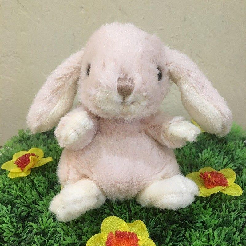 Barbara Bukowski - Fluffy rabbit KANINI   Pale pink