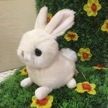Barbara Bukowski - Fluffy rabbit HERA white