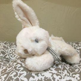 Peluches Bukowski - Lapine COCO blanche