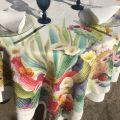"Tessitura Toscana Tellerie, linen tablecloth ""KAKTUS"""