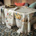 "Tessituraz Toscana Tellerie, linen tablecoth ""Fiammingo"""
