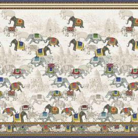 MEZZERI  ANGKOR - Decorative Cloths  TESSITURA TOSCANA TELERIE