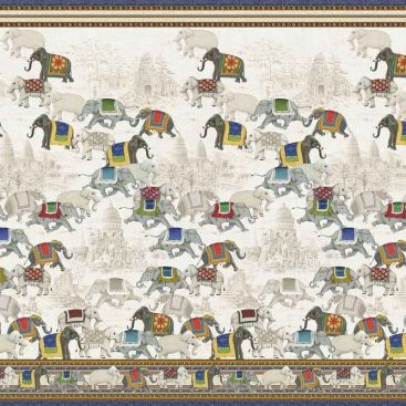 MEZZERO  ANGKOR - Decorative Cloths  TESSITURA TOSCANA TELERIE
