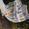 MEZZERO  KAKTUS - Decorative Cloths  TESSITURA TOSCANA TELERIE