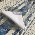 """Cotton table napkin """"Coucke"""", plain white"""