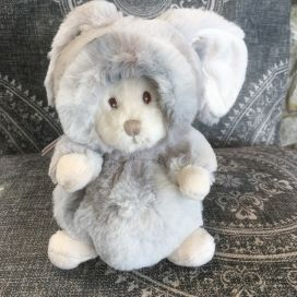 Peluches Bukowski - Ziggy winter rabbit gris