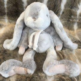 Peluches Bukowski - Lapin Athos gris