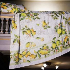 MEZZERI  LIMONCELLO - Decorative Cloths  TESSITURA TOSCANA TELERIE