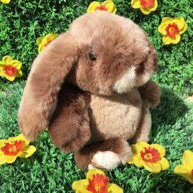 Peluches Bukowski - Bouncy Bunny chocolat