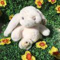 Peluches Bukowski - Bouncy Bunny girl blanche