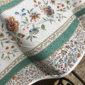 """Provence rectangular tablecloth in coated cotton """"Beaucaire"""""""