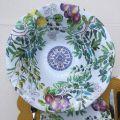 "Michel Design Works - ""TUSCAN GROVE"" Melanine large bowl"