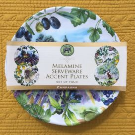 "Michel Design Works - ""CAMPAGNA"" Accent plate set"