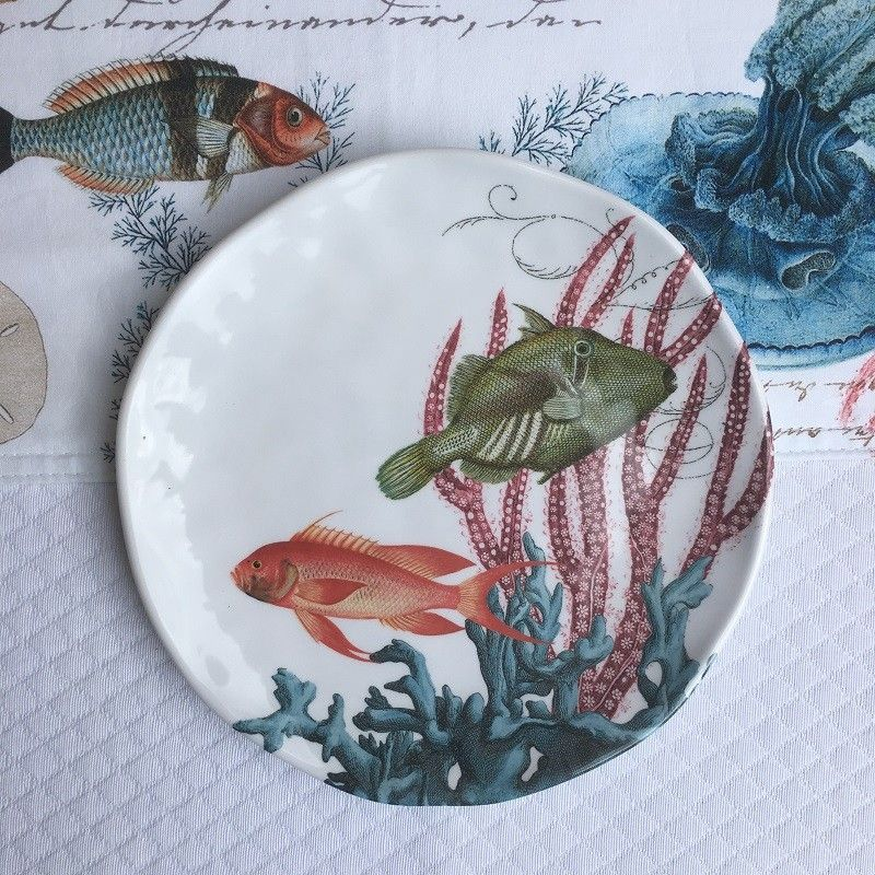 """Michel Design Works - """"SEE LIFE"""" Accent plate set"""