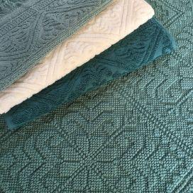 "Bath mat La Vivaraise ""Enzo"" greyish green"