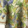 "Tessitura Toscana Tellerie, linen tablecloth ""Violetta"""