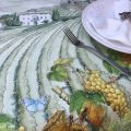 "Tessitura Toscana Telerie, nappe en lin  ""Violetta"""
